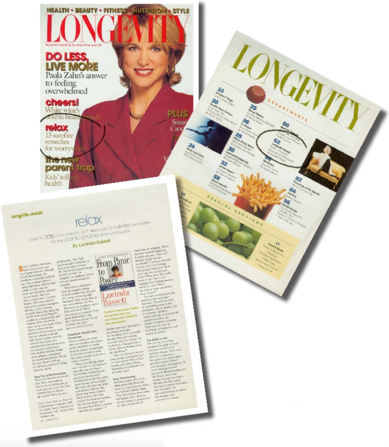 Lucinda Bassett in Longevity Magazine