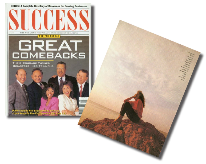 Lucinda Bassett in Success Magazine